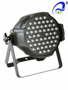 China RGBW / RGB Par 64 Led Cans Lights Beam Angle 15 - 40 Degree CE Certification on sale