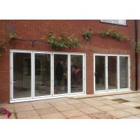 China Luxury Aluminium Folding Glass Balcony Door for House Large Lighting Area on sale
