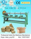 Découpeuse ondulée réglable de carton, machine à sous de quatre liens