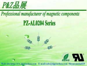 China Axial Color ring inductors PZ-AL0204-Series 0.1uH~1000uH on sale