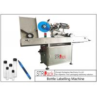 China Adhesive Stickers Horizontal Labeling Machine , Vial Ampoule Syringe Labeling Machine  on sale