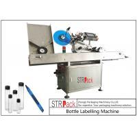China Adhesive StickersHorizontal Labeling Machine , Vial Ampoule Syringe Labeling Machine on sale