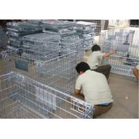 Stackable Detachable wire mesh cages, metal storage cage container