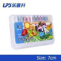 China 110Mm Oil Short Twisters Crayons For Toddlers Painting Tools 24 Colors on sale