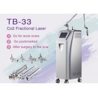 10600nm RF Tube Co2 Fractional Laser Machine For Acne Scars / Skin Rejuvenation