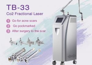 China 10600nm RF Tube Co2 Fractional Laser Machine For Acne Scars / Skin Rejuvenation on sale