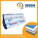 PE Printable Surface Protection Film UV Protection Tape Milky White Color