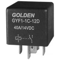 China General Purpose 5 Pin Automotive Relay 12V GYF HFV4 40A / 80A on sale