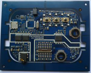 China Custom PCB Single Sided Circuit Board Assemblies For Car Alarm System on sale