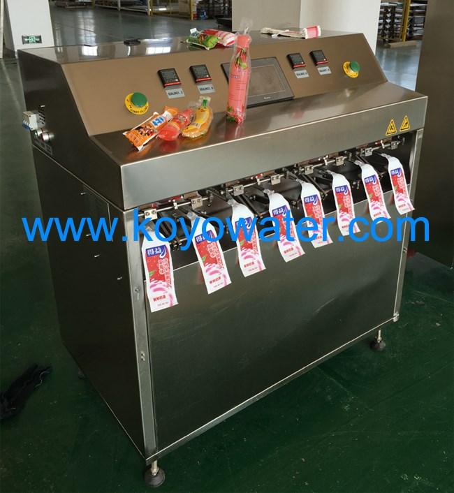Mini Small Bag Juice Tube Filling Machine Plastic Packing