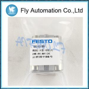 China AEVU-25-5-P-A 156945 Festo Compact Cylinder Aluminum Double Acting Cylinder on sale