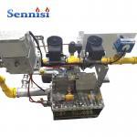 Air Flow Steel Substrate Powder Coating Gas Burner