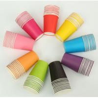 PE Coated Juice / Coffee Paper Cup Fan Sheet Single / Double