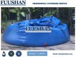 10000l PVC Canvas Self-supporting Onion Water Tanks for Fire Brigades