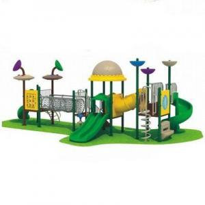 China Engineering Plastic Outdoor Playground AM-1669A on sale