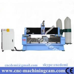 China 4th axies servo motor stone sculpture cnc router machine 1325(1300*2500*300mm) on sale