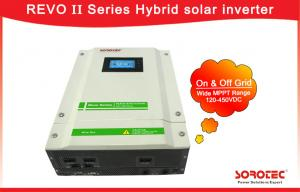 China 120-450VDC MPPT Range Hybrid Solar Inverter Language And Time Setting on sale