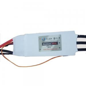 China Mig -29 Brushless Dc Motor Controller ESC Electrical 20S 300A Controller For Rc Airplane on sale