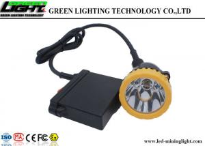 China Hunting Light GL6-B A LED Miners Cap Lamp High Brightness Rechargeable Battery on sale