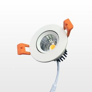 Quality Epistar COB 10W / 15W Dimmable LED Down Lights 831LM - 1250LM 80Ra CRI for sale