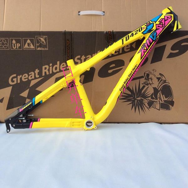 professional dirt jump mountain bike frame alluminum 7005 ,bmx slope ...