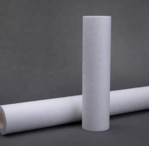 China Spunbonded Membrane Supports Materials Depth Filter Cartridge For Industrial Hydraulic Fluids on sale