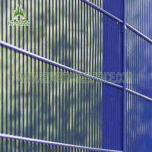 China PVC Galvanized Curved Metal Iron Garden FencePanels ISO9001 Standard on sale