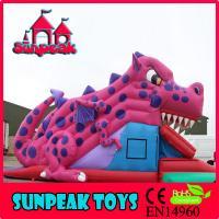 SL-270 Custom Cartoon Inflatable Bouncer Slide Slip N Slide