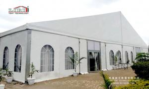 China White Roof 1500 Seater Church Event ABS Walling Glass Plane Tent For Sale Nigeria on sale