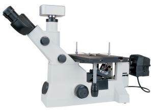 China Dark Field Inverted Trinocular Digital Metallurgical Microscope with Infinity Optical System on sale