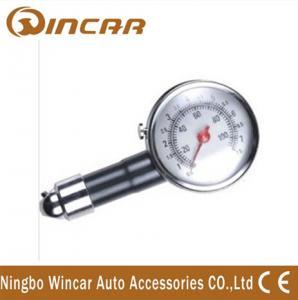 China Portable Tire Inflator Digital Tire Pressure Gauge , Mini precision tire pressure gauge on sale