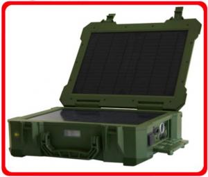 China Portable Solar Generator For Camping , Solar Inverter Generator Multi Function on sale