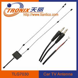 China antenne active de la voiture TV avec l'amplificateur actif TLG7030 de signal de VHF TV de fréquence ultra-haute d'amplificateur on sale