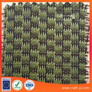 China factory supply PP grass straw woven textile fabrics for bag sun-helmet on sale