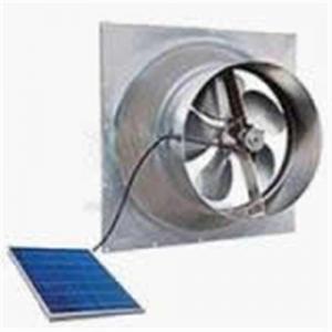 China Solar gable fan on sale