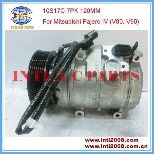 Car Compressor air conditioning Denso 10S17C For Mitsubishi Pajero