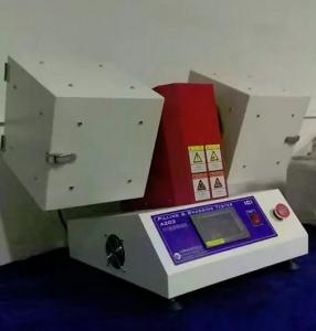 China 220V,3A Power Textile Testing Equipment HTF-002 ICI Mace Pilling Tester With 2 Heads on sale