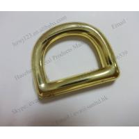 China bulk metal open d ring in bulk, fashion welded d ring on sale