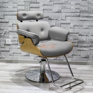 China Beiqi antique used salon chairs sales cheap hairdresser barber chair hair salon equipment on sale