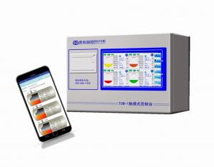 China TCM-1 Automatic Tank Gauge console / Reomte Diesel Fuel Tank Monitoring System for petrol station on sale
