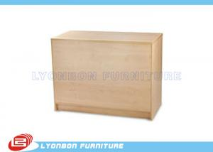 China Durable Wooden Store Cash Counter / Checkout Counter For Sale , Printing Logo on sale