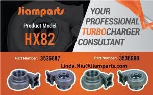 China Cummins Iron TurboCompressor Exhaust AR32 Single Scroll For Holset HC5A HX82 3597942 Turbocharger Turbine Housing on sale