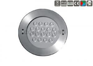 China Dia. 250mm Cover LED Underwater Pool Lights , Swimming Pool Light Bulb For Fountains on sale