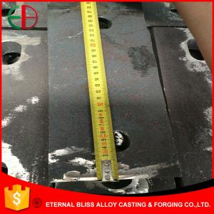 China AS2027 Cr27 High Chrome White Iron Castings Chute Liners EB11033 on sale