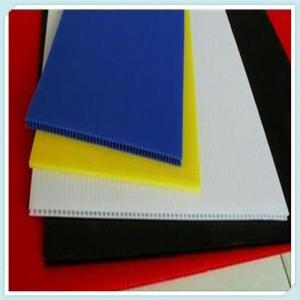 China 2MM-10MM PP corrugated Plastic honeycomb sheet /sheet polypropylene on sale