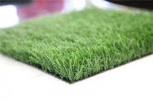China PE Monofilament & PP Curly Yarn Balcony Artificial Grass Mat Recycled , Fire Proof on sale