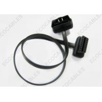 OBD 16P Signal Cable Male to Female , Black Car Charger Series Cable