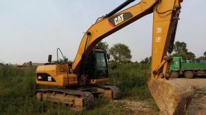China Used excavator 2012 CAT 320 used excavator 21 ton & 1.2m3bucket Caterpillar 320D digger excavator on sale