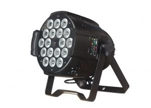 China 18 Pcs 10W Emitting Color 200W Led Stage Wash Lights For Wedding / TV Show on sale