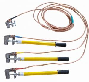 China 35mm2 Tower Erection Tools Grounding Lead For 220kv Safety Earthing Device on sale